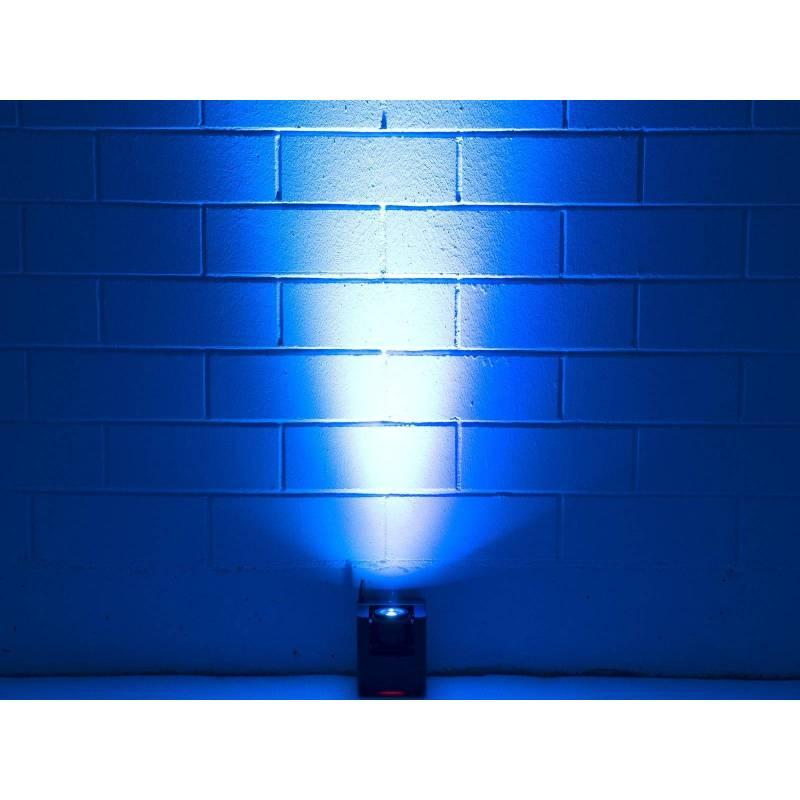 Projecteur LED rechargeable DMX tête orientable professionnel RGBW professionnel