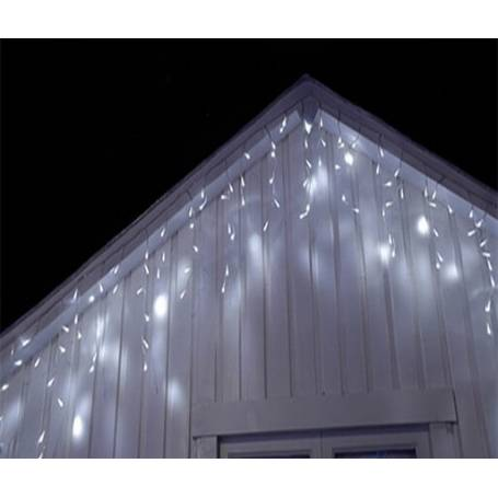 guirlande stalactite micro led blanc froid 2,5 M 16 programmes