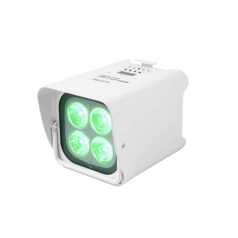 Projecteur rechargeable LED RGBW et UV DMX professionnel professionnel