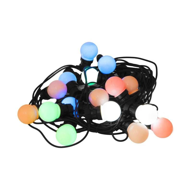 Guirlande led Guinguette changement de couleur RGB 8 programmes