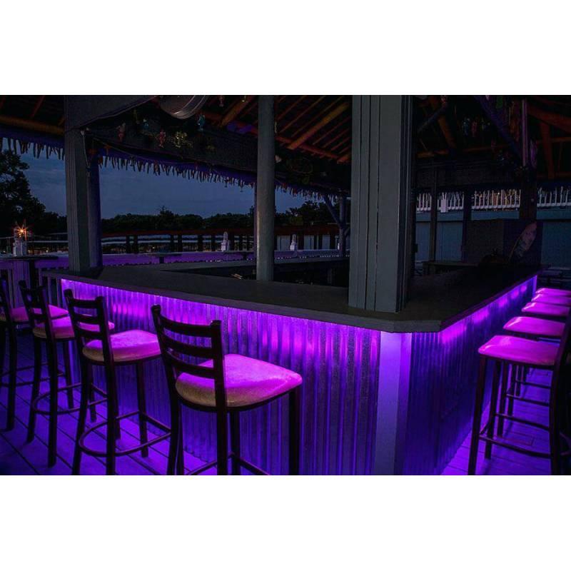 ruban led bar de plage extérieur