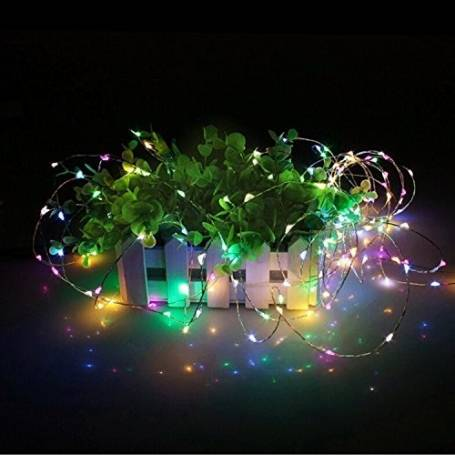 guirlande micro led multicolore  7,5m