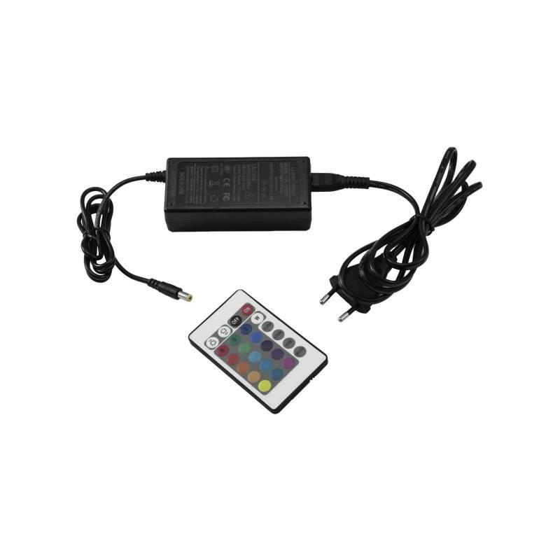 Projecteur rechargeable plat LED RGBW DMX 15W professionnel