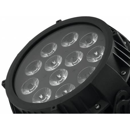 Projecteur LED PAR extérieur 100W HCL RGBAW 12x12W professionnel