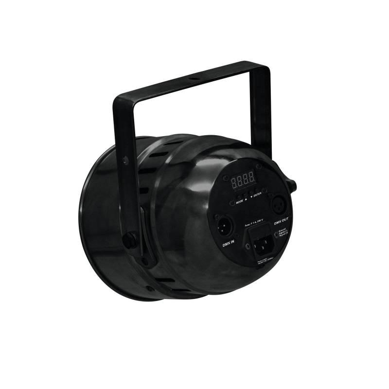 Projecteur 50W LED PAR 9x8W DMX RGBW avec télécommande professionnel