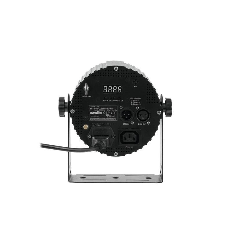 Projecteur 33 W LED PAR HCL RGBAW avec télécommande professionnel
