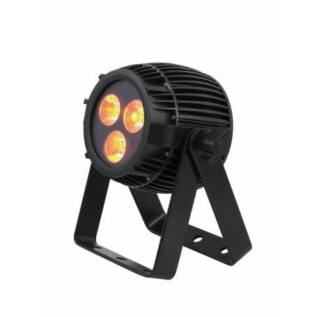 Projecteur PAR DMX 3 LED extérieur 12W HCL RGBAW et UV professionnel