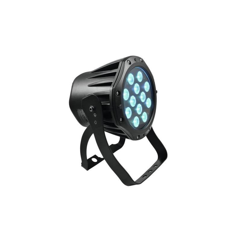 Projecteur PAR 50W DMX 12 LED RVB extérieur professionnel