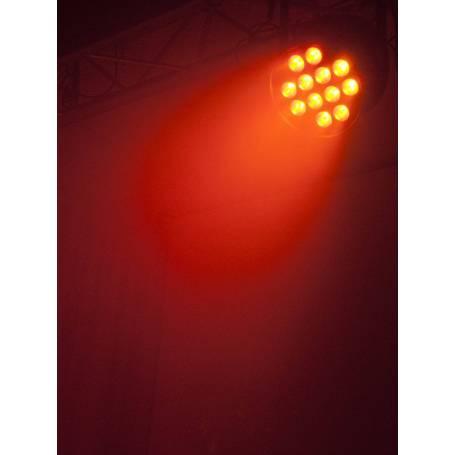 Projecteur LED PAR 64 125W HCL 12x10W RGBAW avec télécommande professionnel