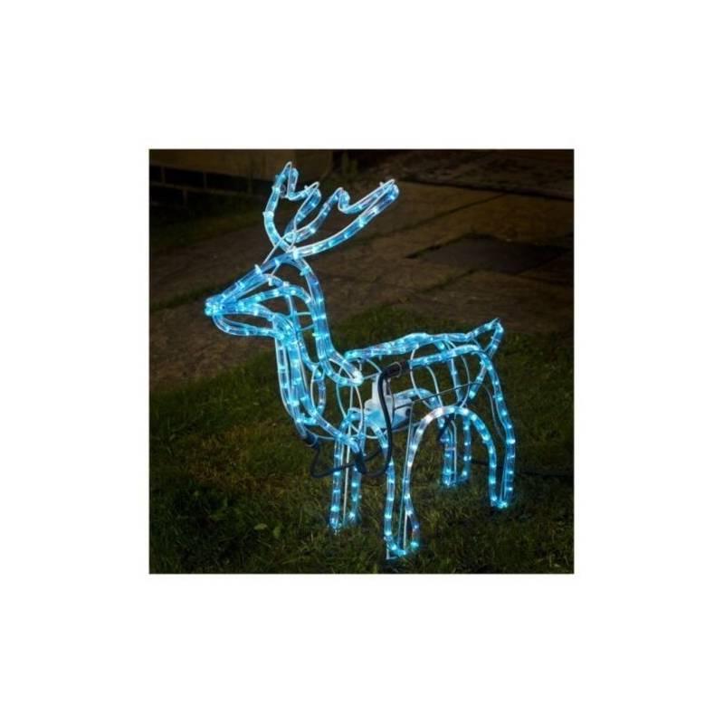 cordon lumineux led bleu 30 mètres décoration noel