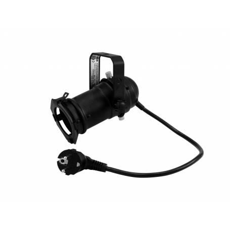 Projecteur 75 W PAR 16 GU-10 noir professionnel