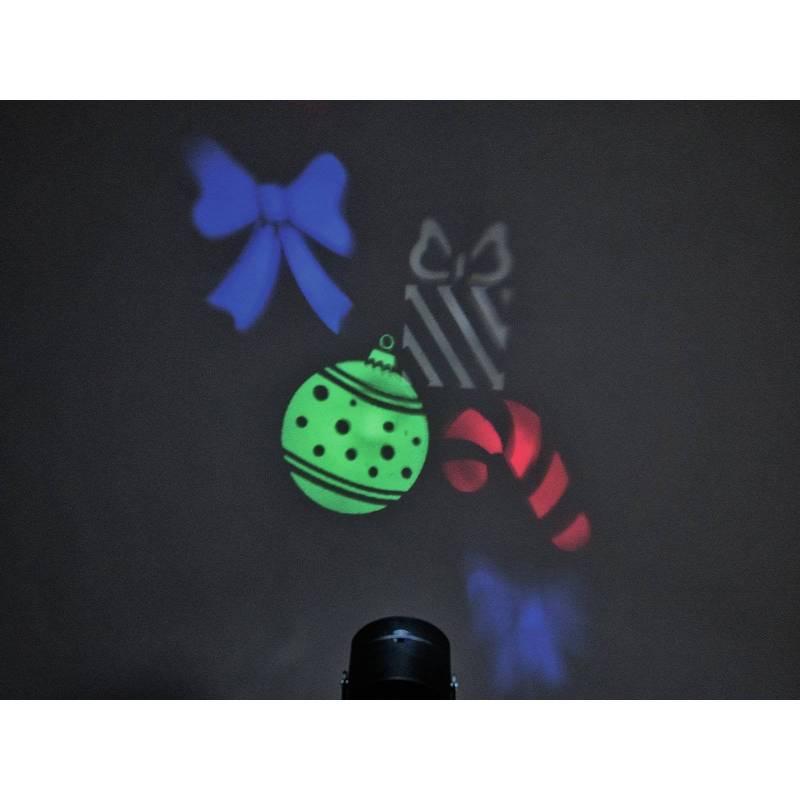 Projecteur de logo GOBO LED 3,5W RGBW avec 4 diapositives professionnel