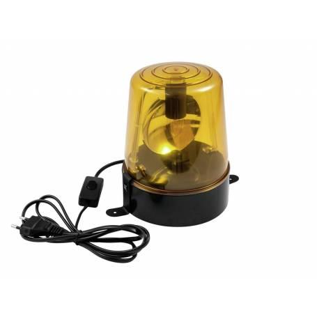 Gyrophare lumineux jaune 24W pour fête