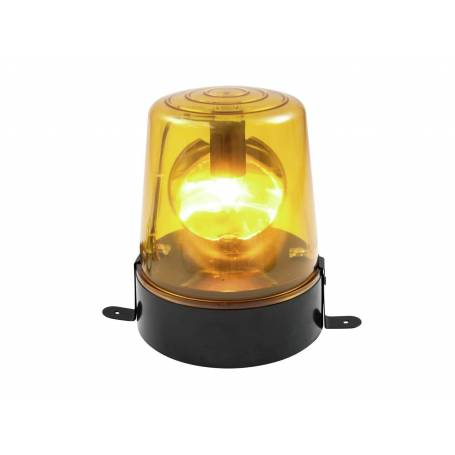 Gyrophare lumineux jaune 24W pour fête professionnel professionnel