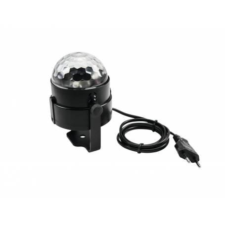 Projecteur effet faisceau LED 3,5W RVB à facette professionnel