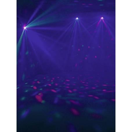 Projecteur effet faisceau LED 3,5W RVB à facette professionnel professionnel