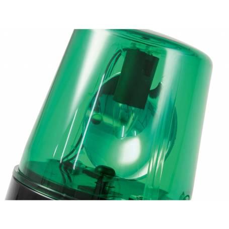 Gyrophare LED vert 6W pour fête professionnel