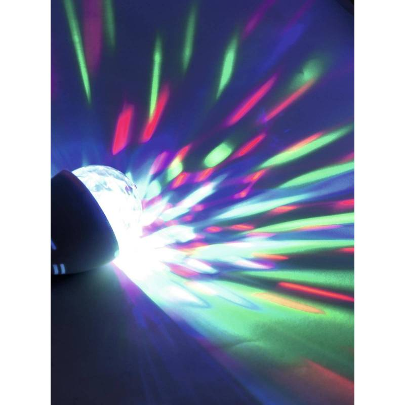 Ampoule effet kaléidoscopiques multicolore E27 professionnel