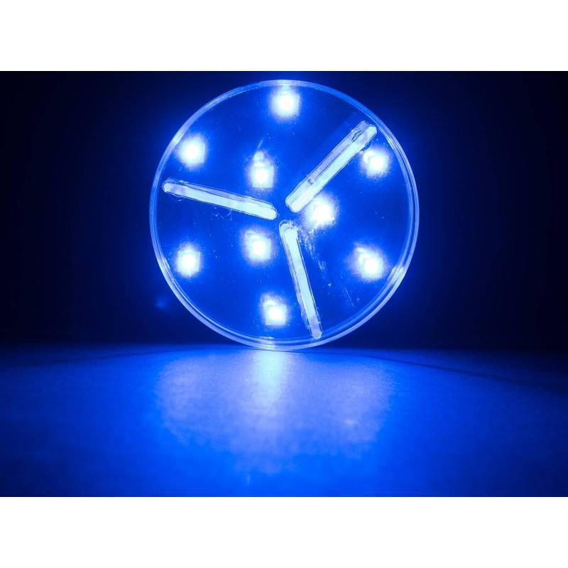 Base lumineuse LED 10CM multicolore télécommande professionnel