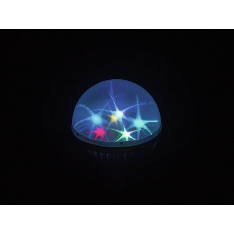 Ampoule effet étoile multicolore E27 LED professionnel