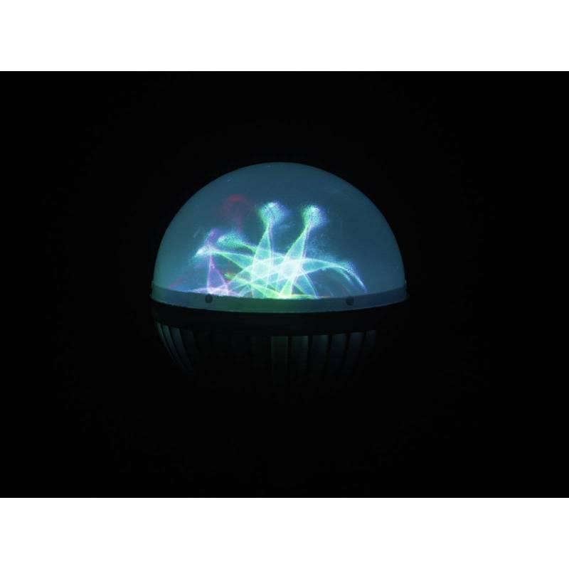 Ampoule effet fleur multicolore E27 LED professionnel