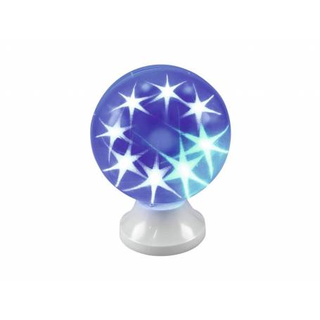 Lampe Disco boule à poser multicolores 15 leds professionnel