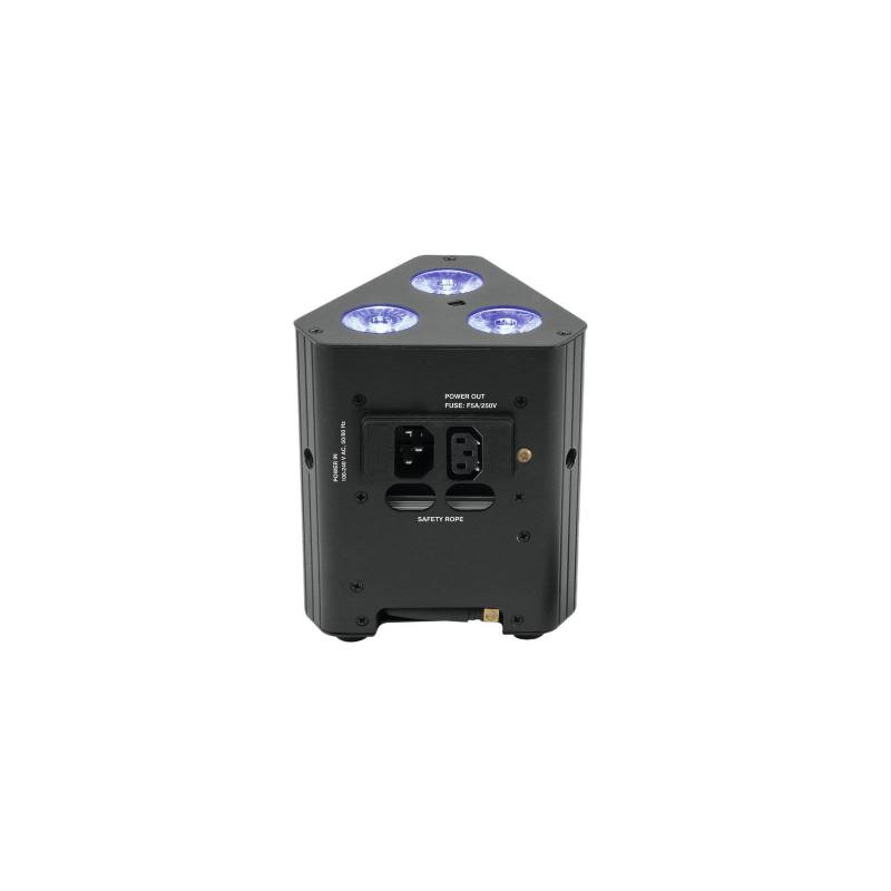 Projecteur rechargeable pour structure 9 LED RGB DMX 25W professionnel