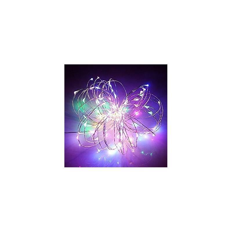 branchage micro led multicolores 2M animé télécommande