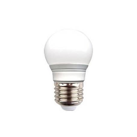 Ampoule Guinguette dimmable 6W E27 blanc chaud opaque G45