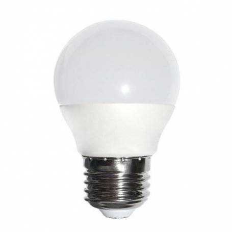 Ampoule Guinguette dimmable 6W E27 blanc chaud opaque G45 professionnel