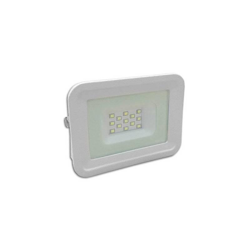 Projecteur led blanc chaud 50W armature blanche professionnel