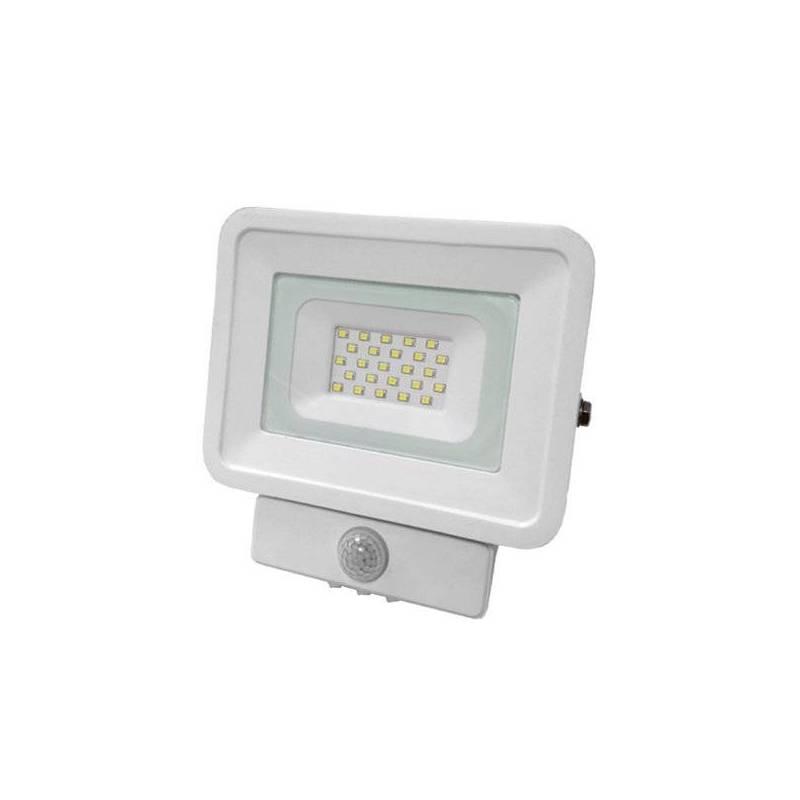 Projecteur led détecteur de mouvement 20w blanc froid plat gris