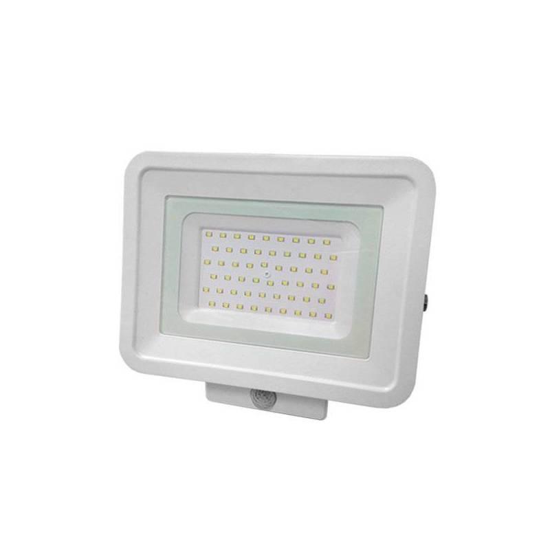 Projecteur led plat blanc détecteur de mouvement extérieur 30 3000k