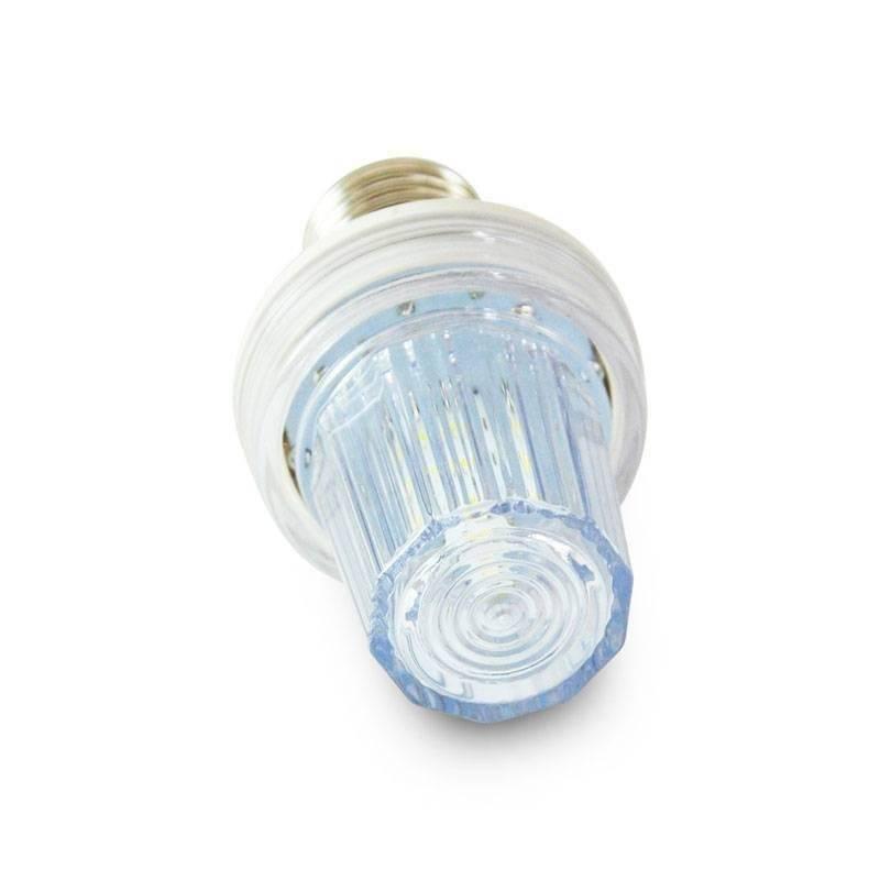 Ampoule LED stroboscopique extérieur guinguette E27 IP44 profesionnelle