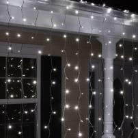 Rideaux lumineux led Blanc Froid 2X2 mètres