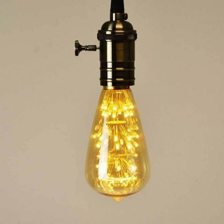 Ampoule led point lumineux poire Edison E27 ST64