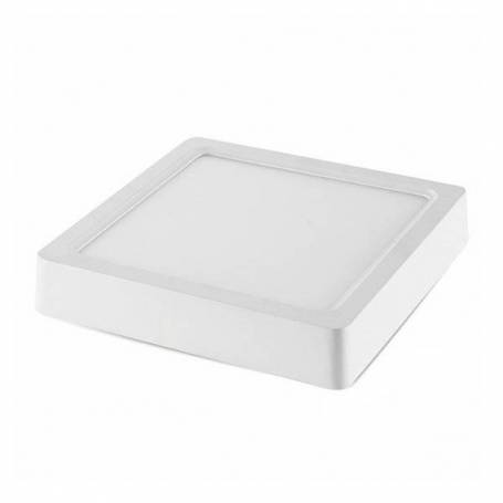 Plafonnier led carré 30x 30 cm blanc naturel 4500K 24 W professionnel
