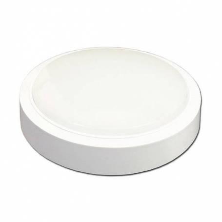 Plafonnier led rond 31 cm blanc chaud 3000K 24 W professionnel