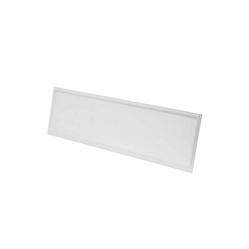 Dalle led rectangle 30x120 blanc neutre 4500k 45w professionnel