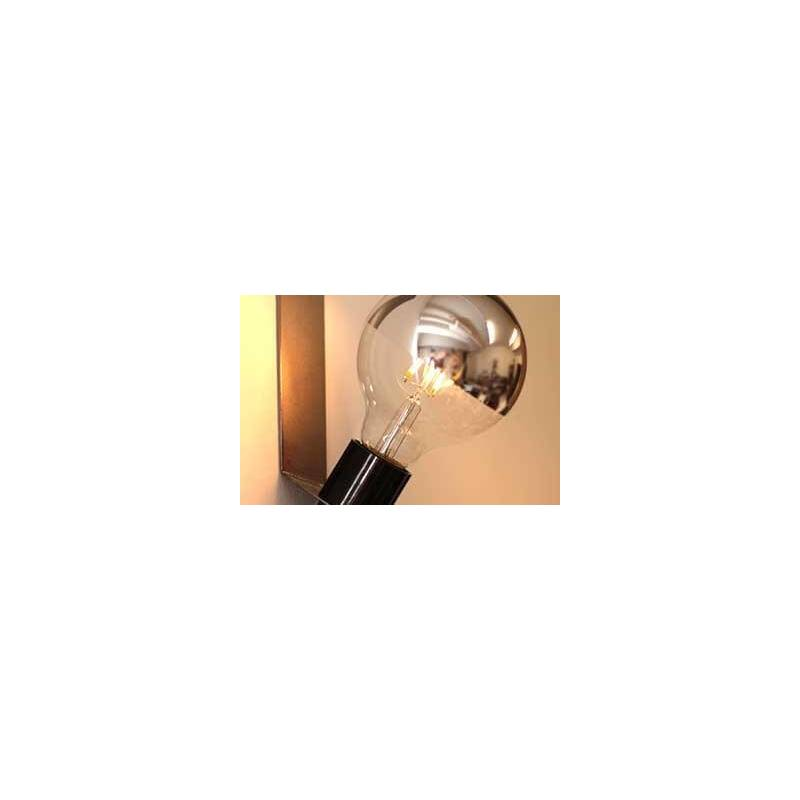 Ampoule led filament e27 miroir m tal 6w g125 for Miroir 220 review