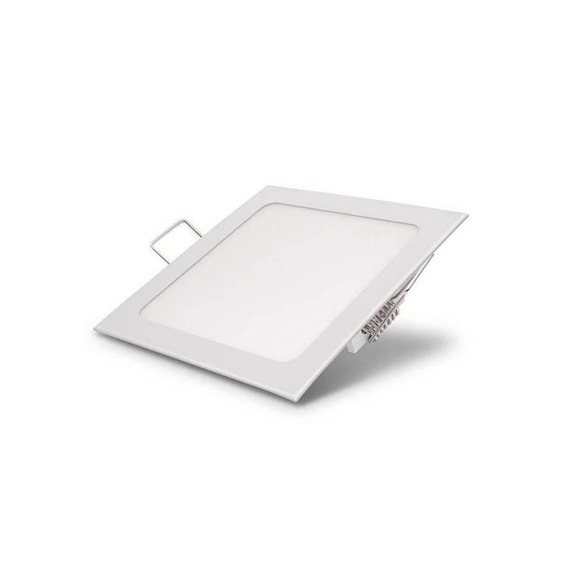 Spot downlight led carre 16x16 cm blanc neutre 4500k 12W professionnel