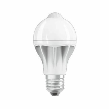 Ampoule led  E27 détecteur de mouvement 9w