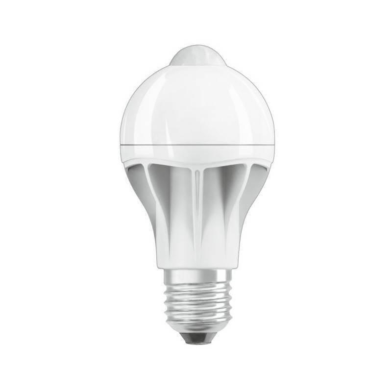 ampoule led e27 d tecteur de mouvement blanc chaud 9w professionnnelle. Black Bedroom Furniture Sets. Home Design Ideas