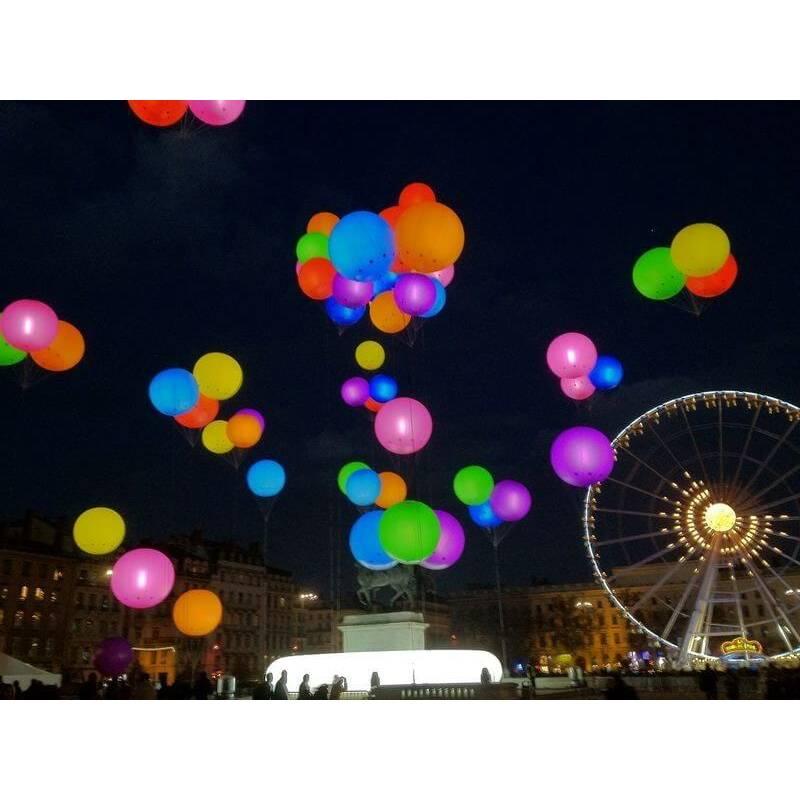 Leds pour ballons gonflables par 20