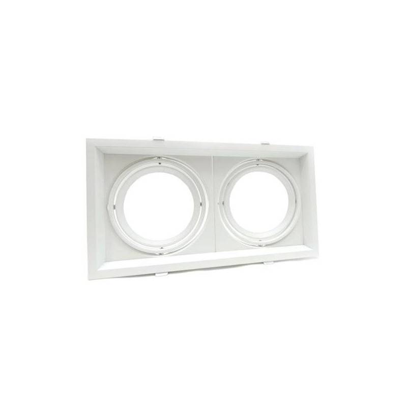 rectangular 2Xring adjustable silver  330X180X42mm professionnel