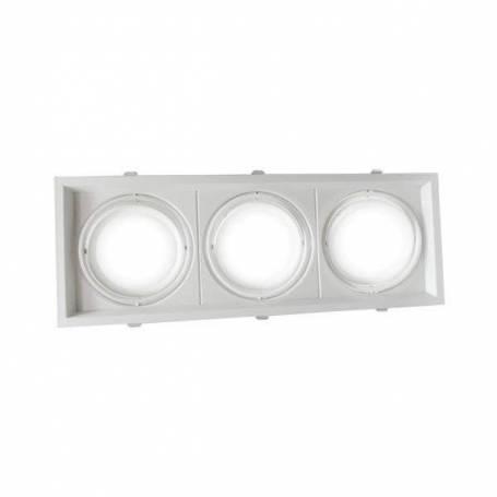 rectangular 3Xring adjustable silver  480X180X42mm professionnel