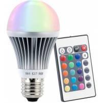 Ampoule led RVB E27 télécommandée