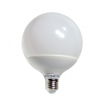 Ampoule LED E27 Globe G120 mm 15W 2700k dimmable blanc chaud professionnelle professionnel