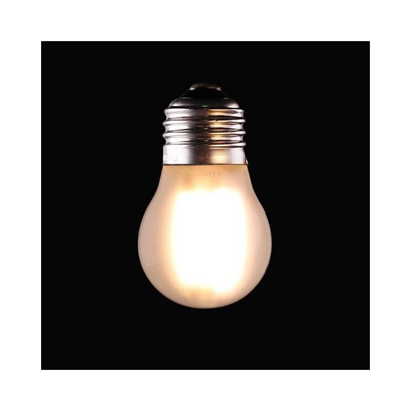 Ampoule LED dimmable 4W Givré filament Guinguette E27 blanc chaud 2200k professionnel