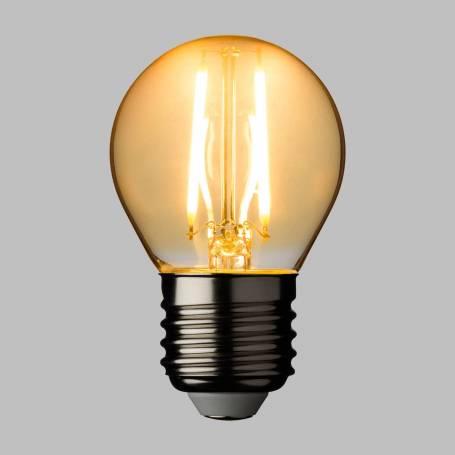 Lot de 10 Ampoules LED 2W filament Guinguette 2200K blanc chaud E27